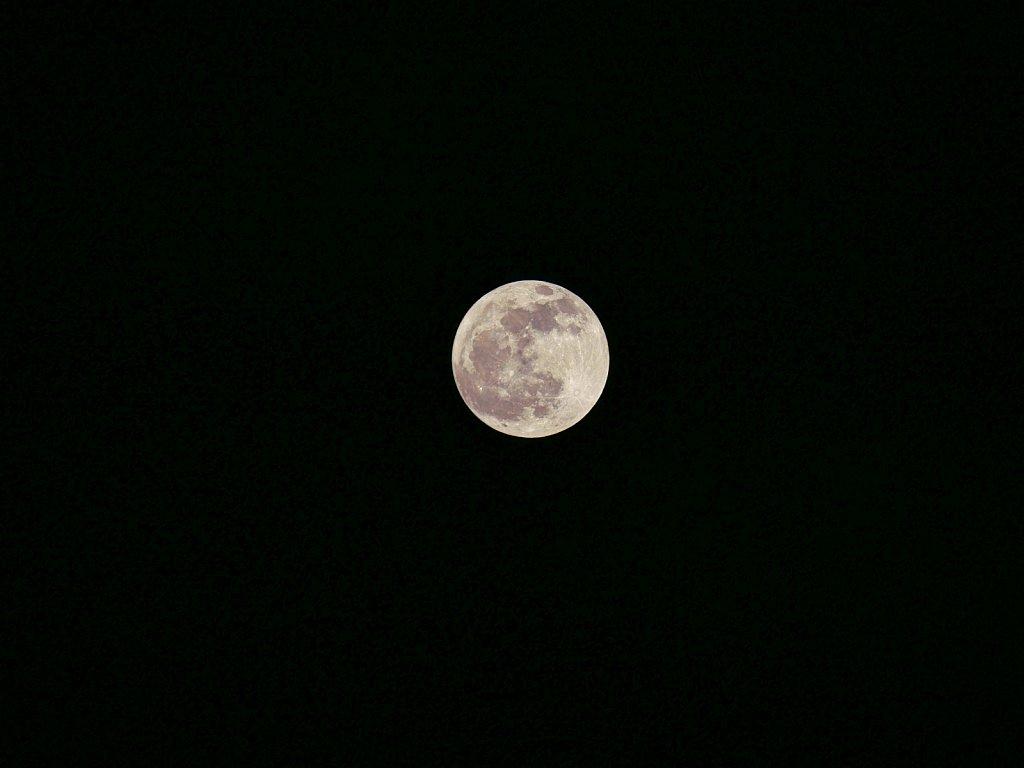 Moon over Dallas