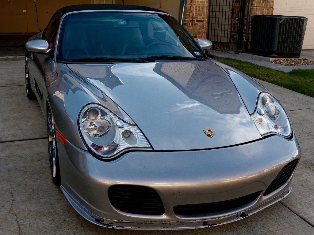 2002 Porsche 911 model 996 Convertible